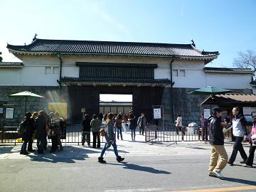 二条城 門